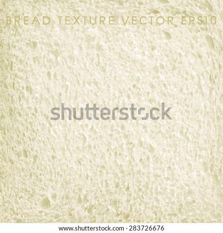 Vector - Bread texture - stock vector