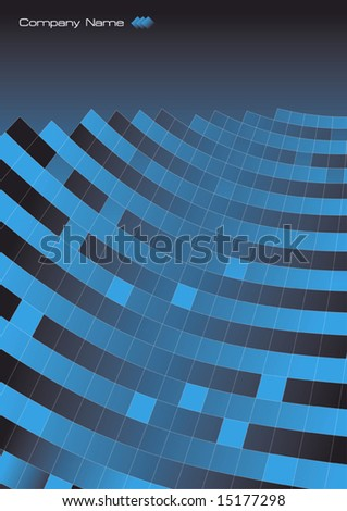 Vector Brochure Design - stock vector