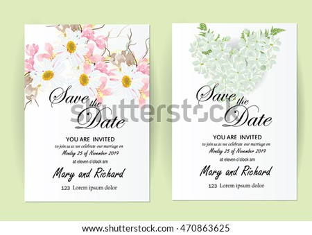 Vector brochure flyer design layout template stock vector 2018 vector brochure flyer design layout template wedding invitation card template flowers concept stopboris Choice Image