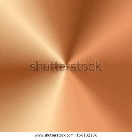 Vector bronze texture - stock vector