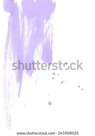 Vector Brush Strokes Laconic Background - stock vector