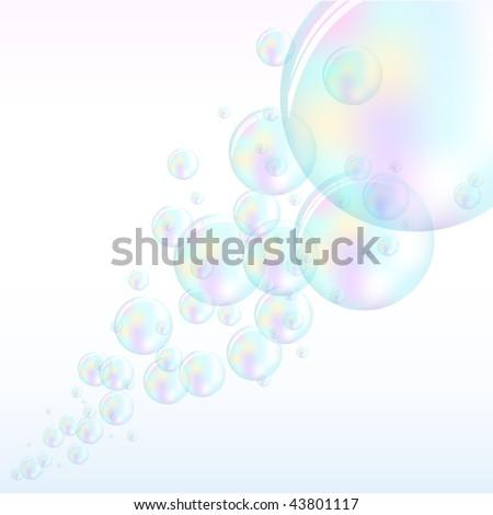 Vector Bubbles - EPS10 - stock vector
