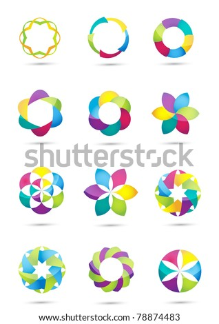 Vector Business Design Elements - stock vector