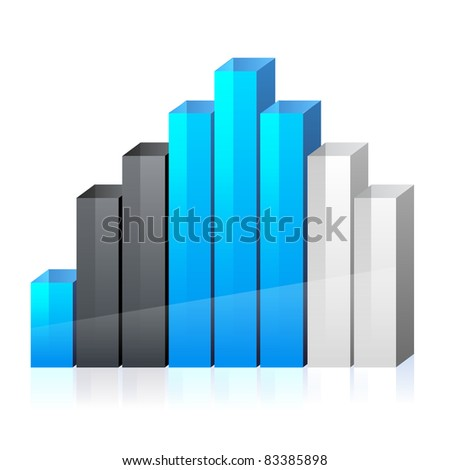 Vector business graph