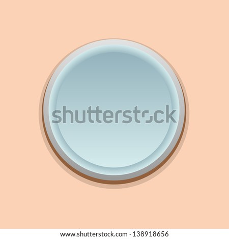 Vector button - stock vector