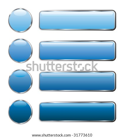 vector buttons for web and computing - stock vector