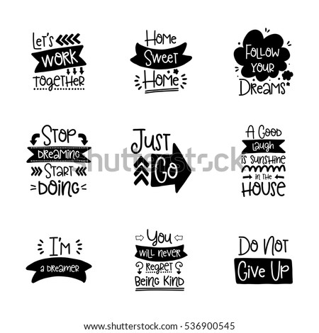 Lettering Decor Vector Calligraphy
