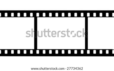 vector camera film - stock vector