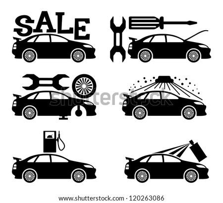 Vector. Cars. - stock vector