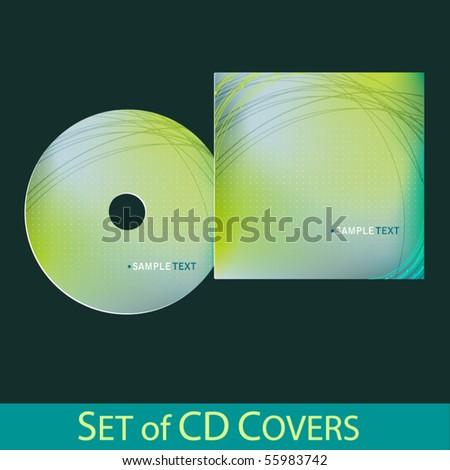 Vector Cd Cover Design Template Stock Vector (2018) 55983742 ...