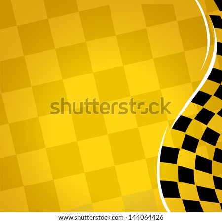 vector checkered racing background. EPS10 - stock vector