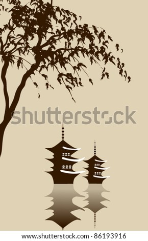 Vector Chinese Illustration