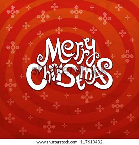 Vector. Christmas background. - stock vector