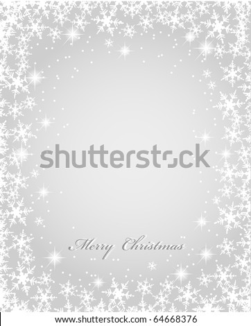 Vector Christmas background - stock vector