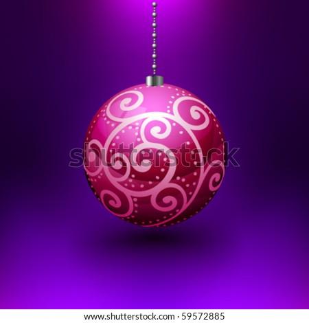 Vector Christmas Ball - stock vector