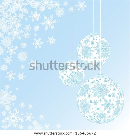 Vector Christmas Balls  - stock vector