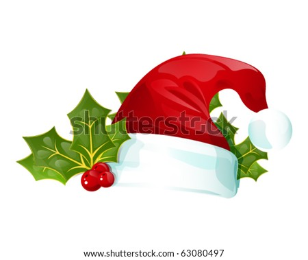 vector christmas card, eps10 - stock vector