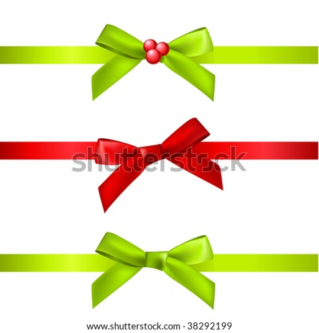 vector christmas decorations - stock vector