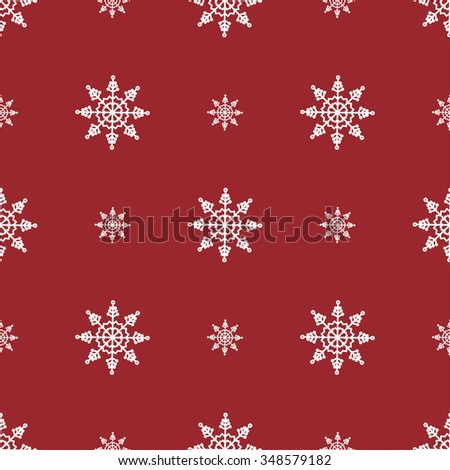 Vector christmas seamless patterns for xmas cards and gift wrapping paper.Vintage Christmas elements - stock vector