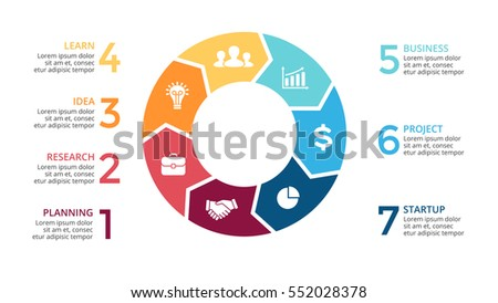 Vector circle arrows infographic cycle diagram stock vector royalty vector circle arrows infographic cycle diagram graph presentation chart business concept with ccuart Choice Image