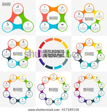 Vector circle infographic template cycle diagram imagem vetorial de vector circle infographic template for cycle diagram graph presentation and round chart ccuart Image collections
