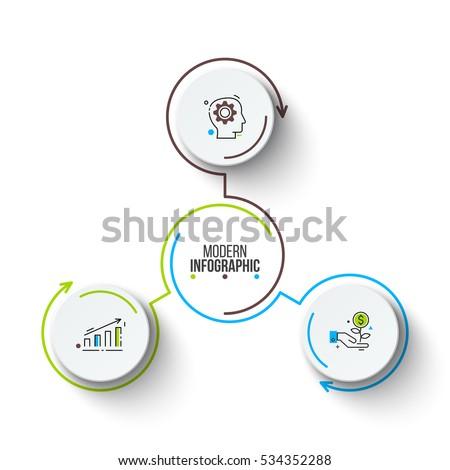 3 Circle Diagram Vector Electrical Drawing Wiring Diagram