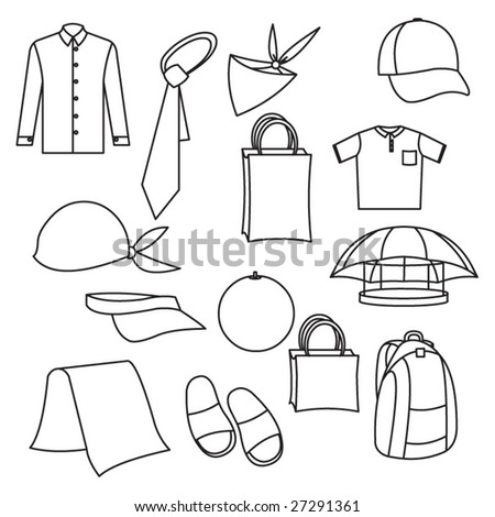 Vector cloth - stock vector