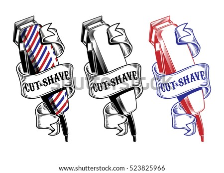 Barber Shop Sign Stock Images, Royalty-Free Images ...