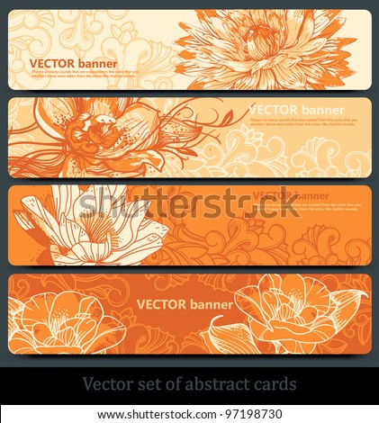Different Shades Of Orange name card orange color stock images, royalty-free images & vectors