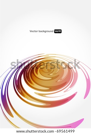 Vector color full abstract background. - stock vector