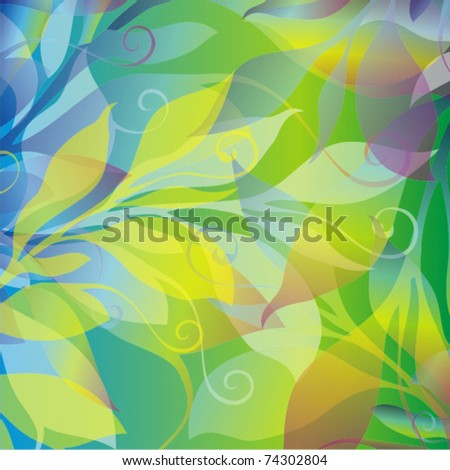 Vector colorful background - stock vector
