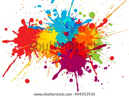 Vector Colorful Background Design Illustration