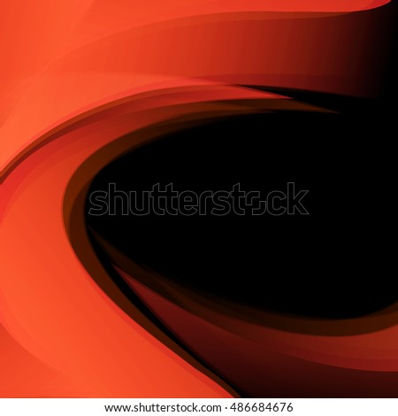 vector colorful background with copy space. wavy elements for design, flyers, broshures. Eps10