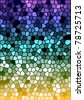 Vector colorful stained glass texture - stock photo