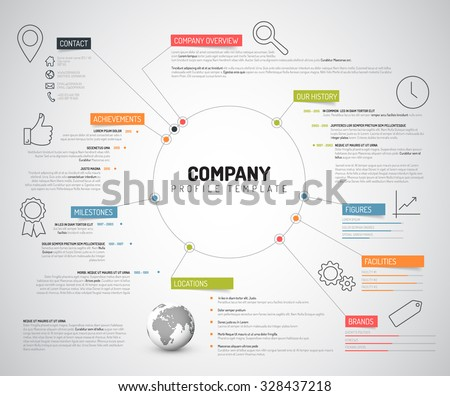 Business profile templates image collections business cards ideas business profile templates image collections business cards ideas best company overview template pictures company profile profile cheaphphosting Choice Image