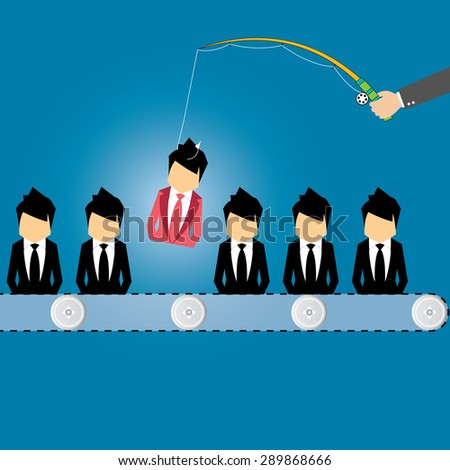 headhunting career stock images royalty free images vectors