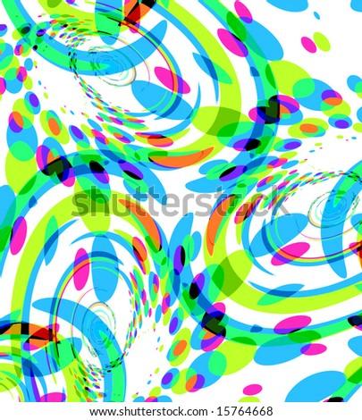 Vector Confetti Party, Also See Jpeg In My Portfolio - stock vector