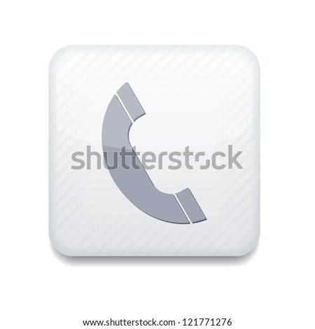 Vector creative app icon. Eps10 - stock vector