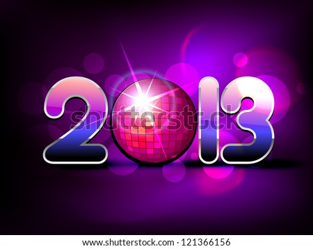 vector creative happy new year design art