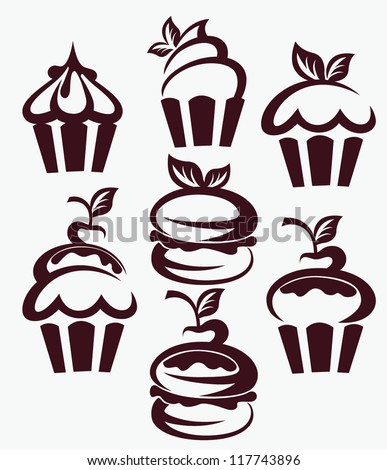 Cupcake Vector Stock Photos Images Amp Pictures Shutterstock