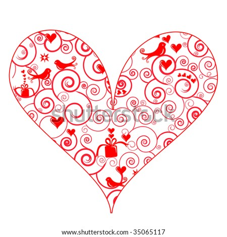 Heart With Angel Wings Stock Images RoyaltyFree Images