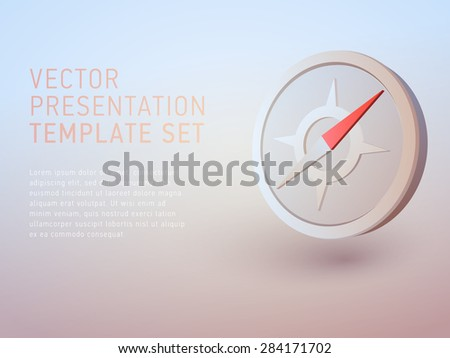 vector 3d empty template