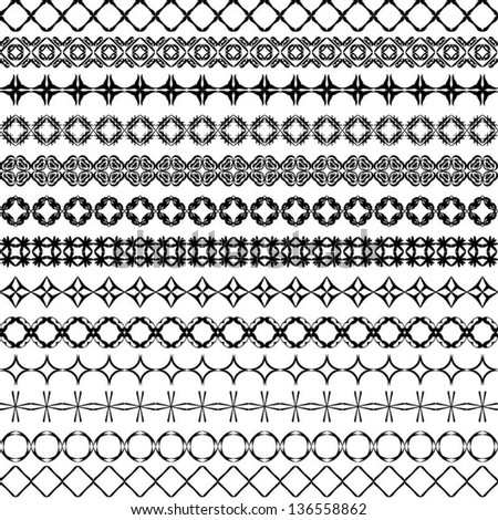 Geometric Border Stock Images Royalty Free Images