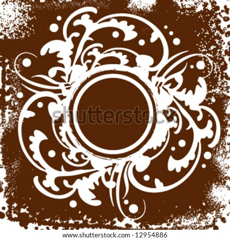 Vector decorative pattern background