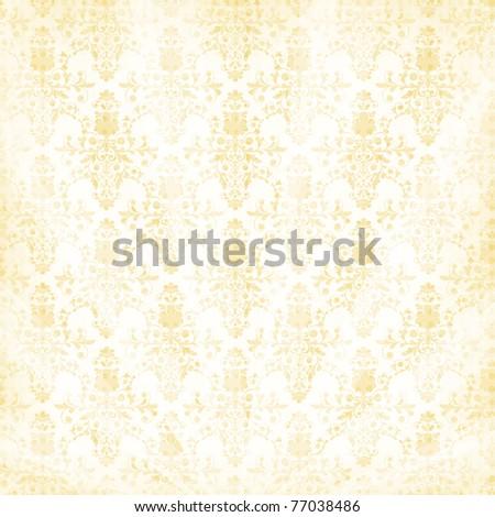 vector decorative vintage floral  background - stock vector