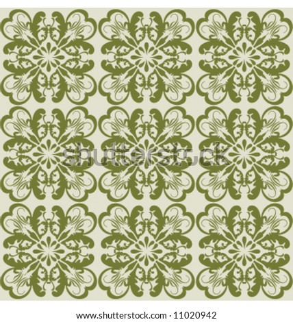 Vector decorative wallpaper background