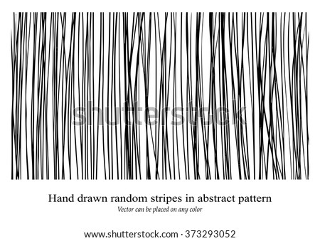 vector design background pattern, hand drawn vertical stripes, messy textured lines, can be changed to any color, and placed on any color - stock vector