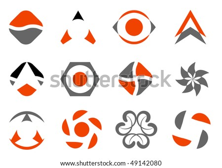 vector design elements set - stock vector
