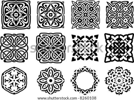 Vector design elements You'll find more similar images in my portfolio - stock vector