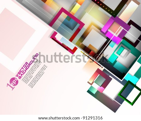 Vector Design - eps10 Abstract Concept Illustration - stock vector